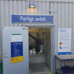 Återvinning av grovsopor och miljöfarligt avfall Transport Stockholm
