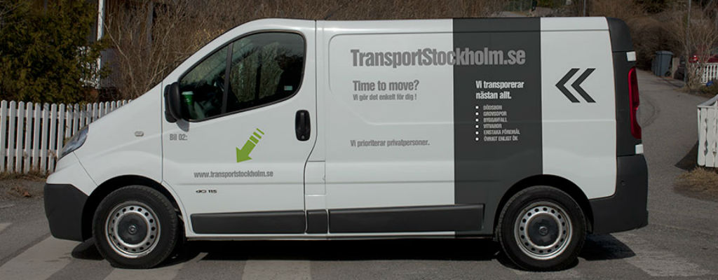 Transportera med oss på Tranport Stockholm